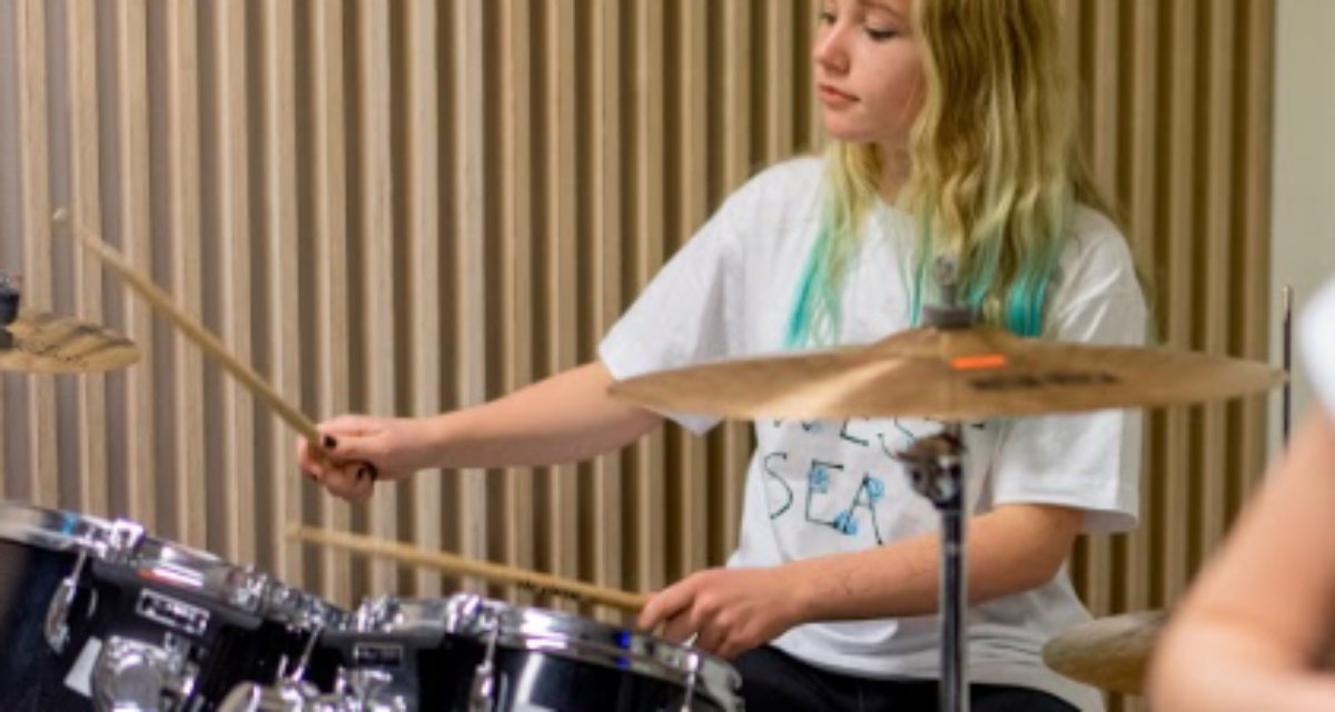 Juniorkurs – Trommer 9 til 14 år