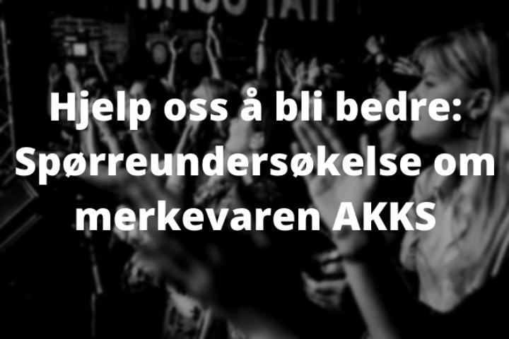 Spørreundersøkelse om AKKS-merkevaren – Vinn gavekort!