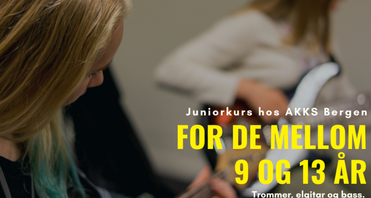 Juniorkurs for de mellom 9 og 13 år