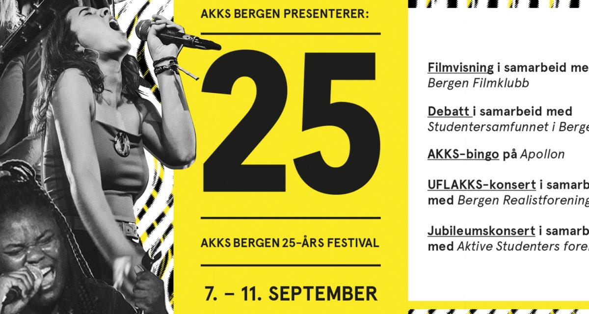 Jubileumsfestival 7. – 11. september
