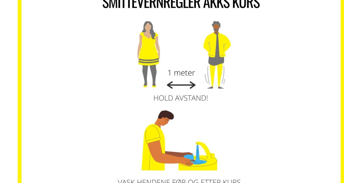 Smittevern på kurs hos AKKS Bergen