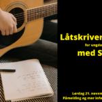 Låtskriverworkshop for ungdom 11-16 år med Silja Sol