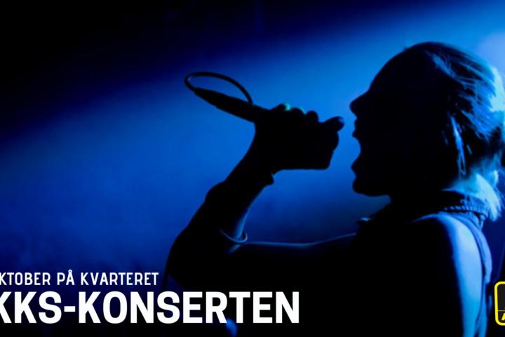 AKKS-konserten 21. oktober på Kvarteret