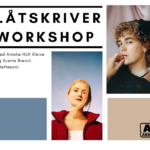 2021 Låtskriverworkshop for ungdom med Sverre Breivik (Metteson) og Amalie Holt Kleive