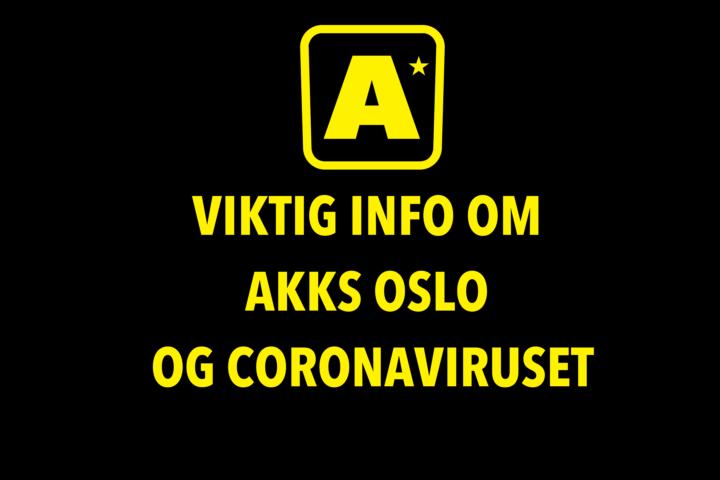 Koronavirus og AKKS Oslos Drift