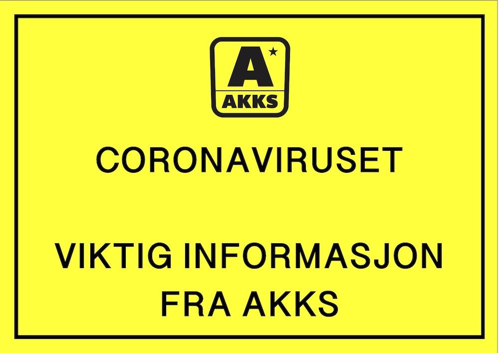 Viktig informasjon om COVID-19/Coronavirus