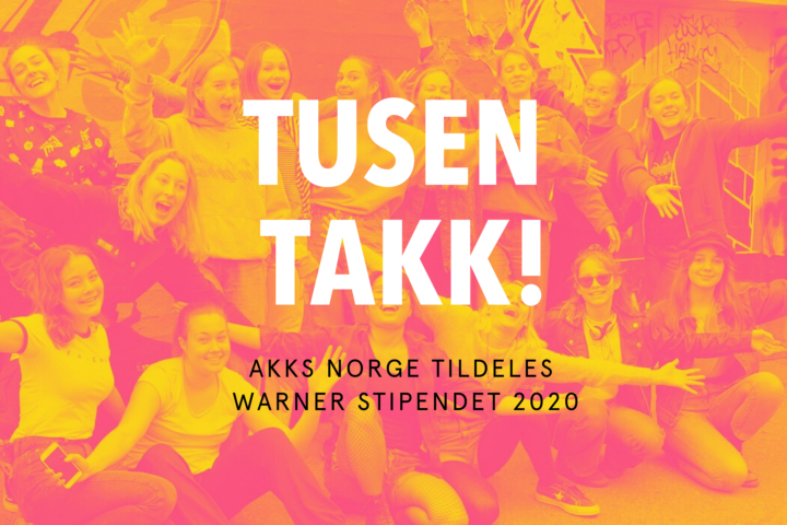 AKKS Norge mottar Warner-stipendet 2020
