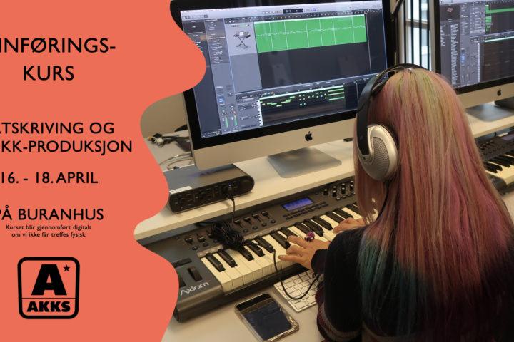 Digitalt innføringskurs: Låtskriving og musikkproduksjon