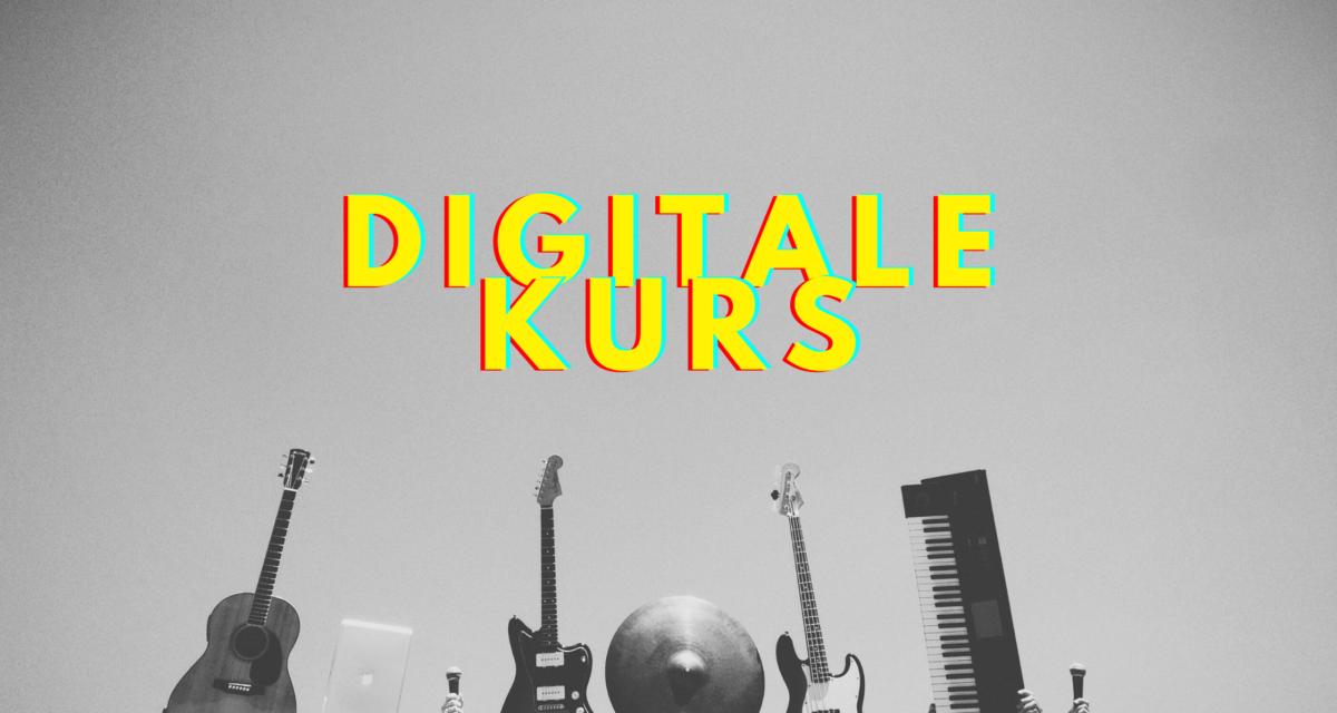 AKKS lanserer digitale kurs – musikkurs for alle i hele landet!